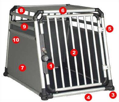 4pets hundebox eagle. Black Bedroom Furniture Sets. Home Design Ideas