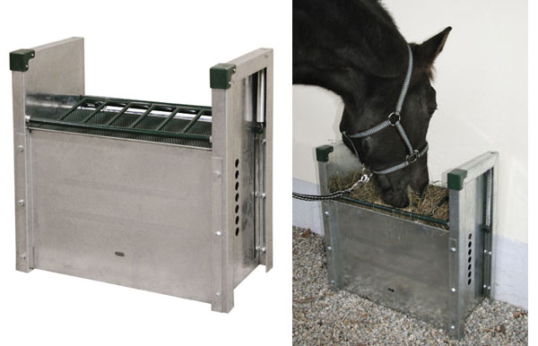 Horsegraze futterautomat f r pferde for Boden heuraufe pferd